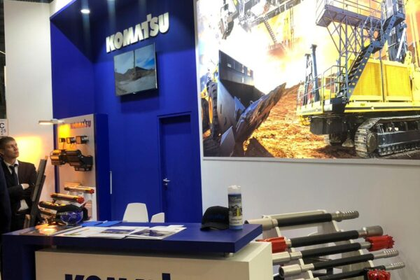 Komatsu Mining и Modern Machinery Russia на выставке «Mining World 2019»