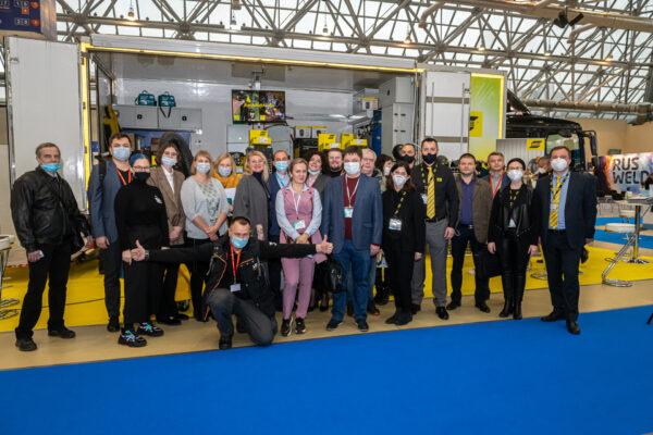 Организация пресс-конференции ESAB на выставке Rusweld