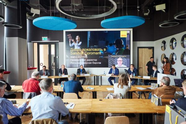 Sandvik Coromant: Пресс-конференция по-новому